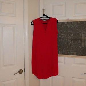 GORGEOUS Red Athleta Dress